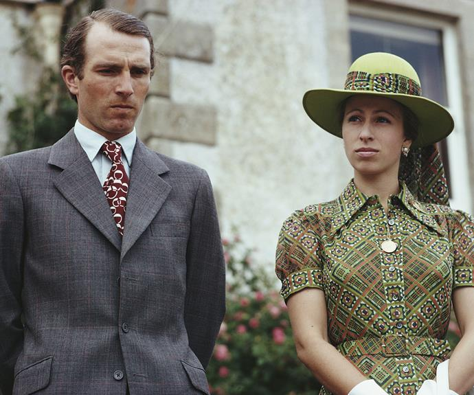 Princess Anne's first husband landed in hot water when it was revealed he'd had an affair with New Zealand woman  Heather Tonkin, which resulted in a daughter.