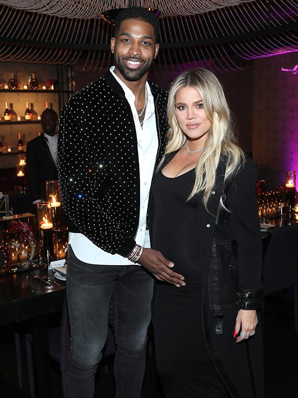 At the time, Khloe and Tristan were pretty loved up.