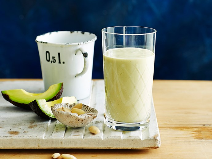 "**[Avocado and almond protein smoothie](http://www.foodtolove.com.au/recipes/almond-and-avocado-protein-smoothie-16526|target=""_blank""