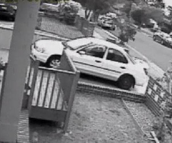 CCTV footage of Brett Watson's car on day of his alleged murder Photo credit: NSW Police