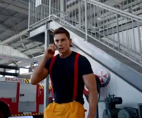 No reality series is complete without a fireman.