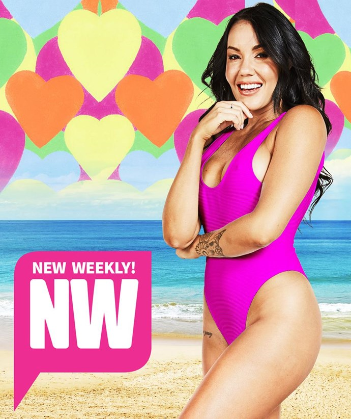 Davina would be the icing on the Love Island cake.