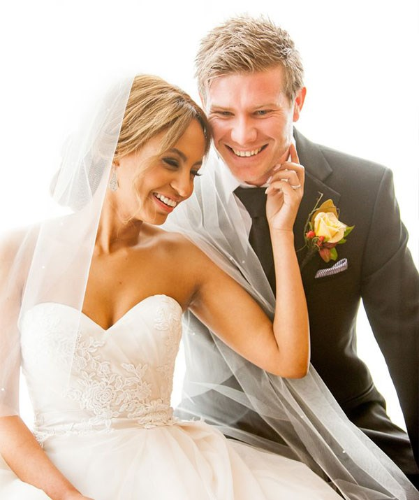 Zoe Hendrix and Alex Garner on their MAFS wedding day in 2015.