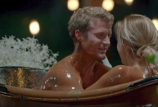 **Richie Strahan and Alex Nation...** Just because you bathe in a tub full of melted chocolate on national TV together, doesn't mean it's forever…