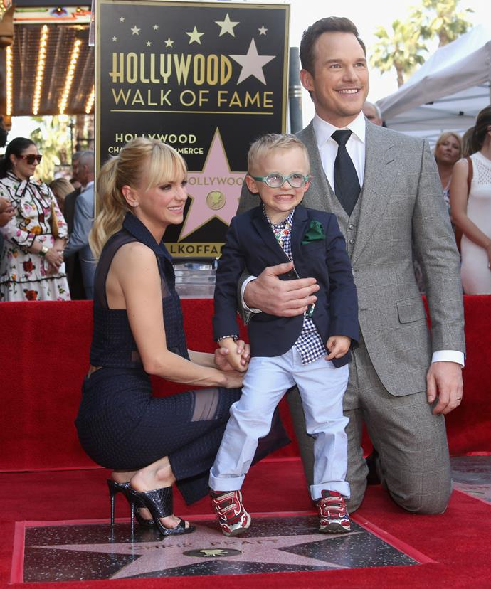 Chris and Anna, who announced their separation in August 2017, share a five-year-old son Jack.