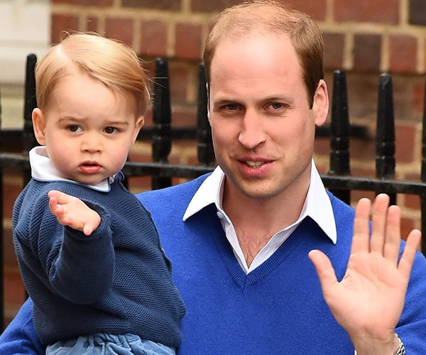 We loved seeing wee George waving to the cameras.
