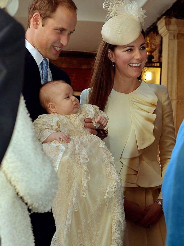 Prince George's christening.