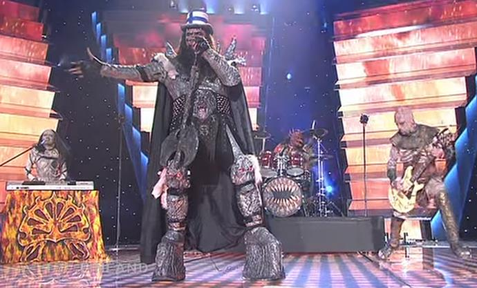 """Not to be mistaken with the likes of Freddy Krueger in A Nightmare On Elm Street, 2006 entrant Lordi, fronted by Tomi Petteri Putaansuu, gained Finland their first Eurovision win with """"Hard Rock Hallelujah"""". It was also the first – and only – hard rock song to have ever won."""
