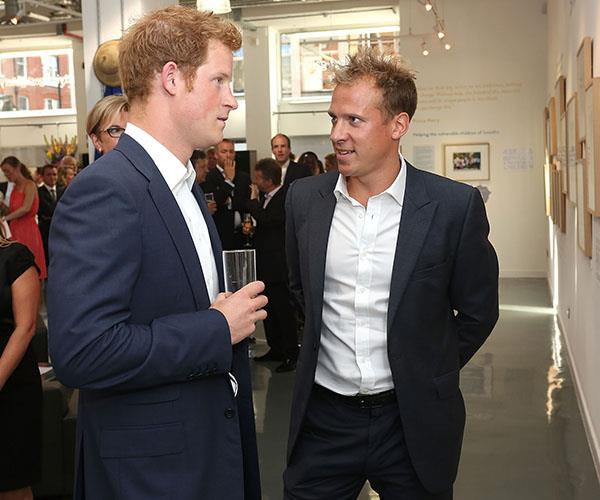 Chris Jackson, pictured with Prince Harry at the Sentebale – Stories of Hope exhibition in London, has been working as the Getty Images Royal Photographer for around 13 years.