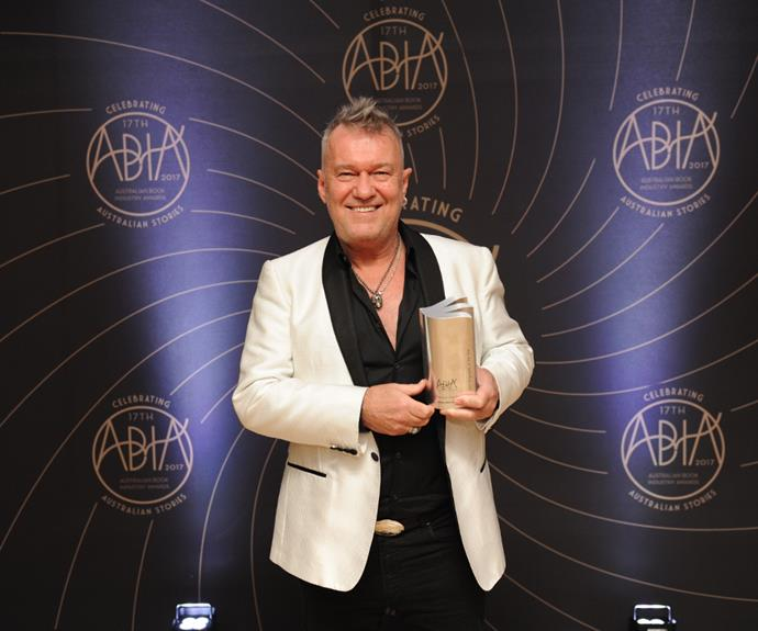 Jimmy Barnes received the Biography Award in last year's ABIA Awards.