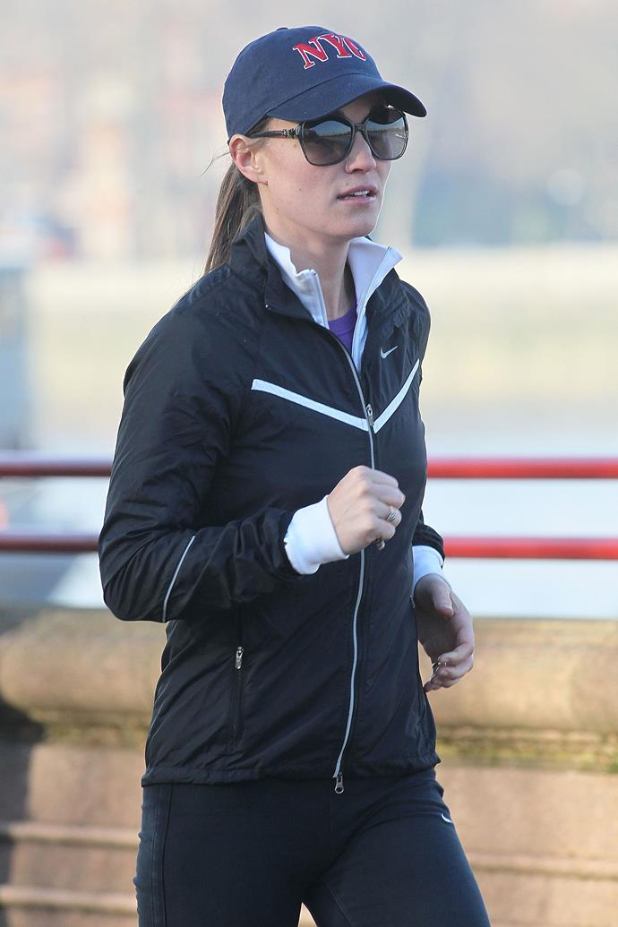 A known fitness fanatic, Pippa Middleton will be working out through her pregnancy.