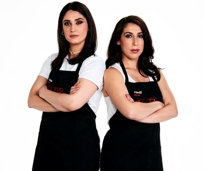 Sonya and Hadil became the first team in *MKR* history to be kicked out of the competition.