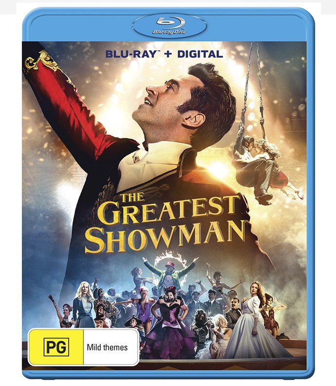 """[*The Greatest Showman* available now on Blu-ray and DVD, $18 at Big W](https://aaa.foxmovies.com.au/enhanced_promotion/the_greatest_showman_317?utm_source=display&utm_medium=PR_other&utm_campaign=the_greatest_showman_317_PR