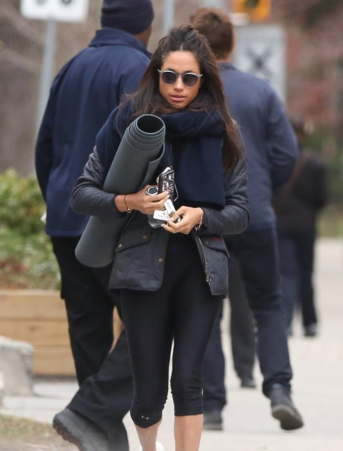 """Fact: Meghan Markle is one super-stylish royal! Take style-spiration from Megan and rug up for the cool change on its way with [lululemon's Going Places Hooded Jacket, $169](https://www.lululemon.com.au/p/au-women-jackets/Going-Places-Hooded-Jacket----/_/prod12140035?rcnt=10&N=7un&cnt=24&color=LW4AEKS_0001