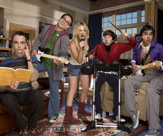 *The Big Bang Theory* has been renewed.