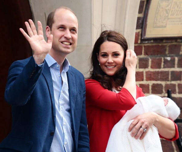 Kate loves turning to Jenny Packham for her post-baby looks.