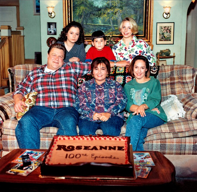 Throwback to 1988 with co-stars Sara, Michael, Lecy, Laurie Metcalfe and John.