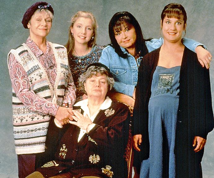 Estelle Parsons and Shelley Winters played Roseanne's mother and grandmother in the original series.