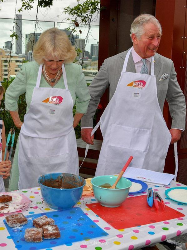 We already know Charles is a secret Masterchef!