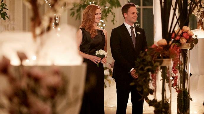 The wedding looks beautiful. *Credit: USA Network*