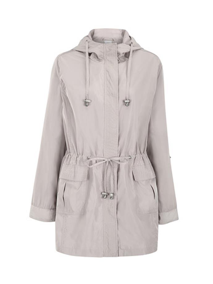 """Lined anorak in String, $25, [Kmart](http://www.kmart.com.au/product/lined-anorak/1942808