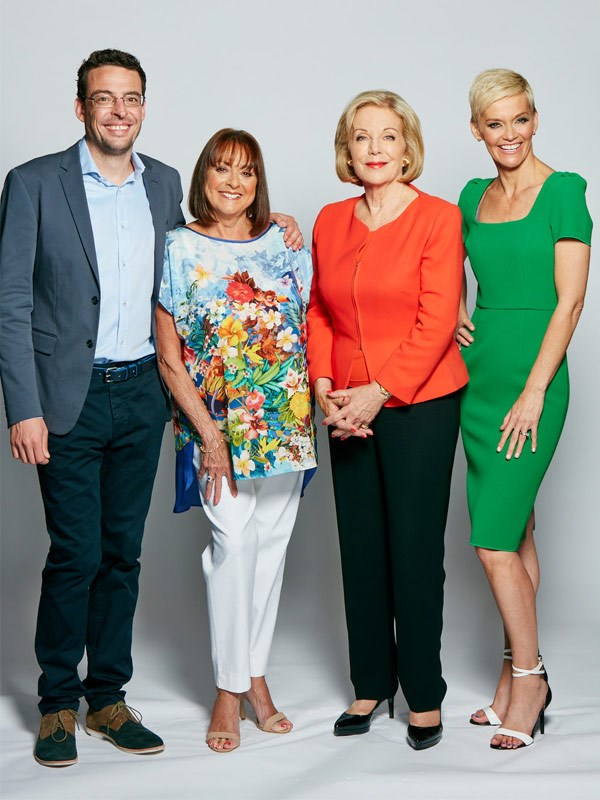 Our insider says the *Studio 10* team are far from their happy on-screen family presence.