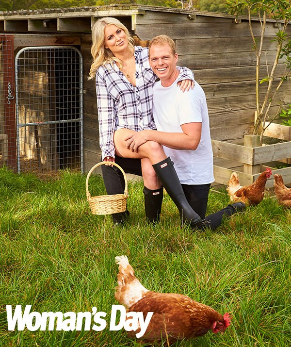 Even the chooks love Jarrod's chick.