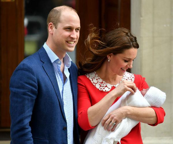 Duchess Catherine was in and out of hospital for less than a day.