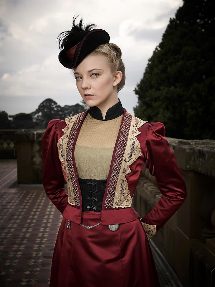 Natalie Dormer as Hester Appleyard. Photography: Foxtel/Ben King