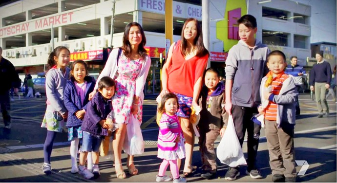 The Melbourne mums have seven kids between them.