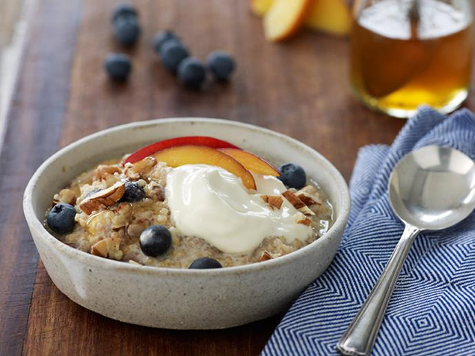 """**[Breakfast quinoa](http://www.foodtolove.com.au/recipes/breakfast-quinoa-34792