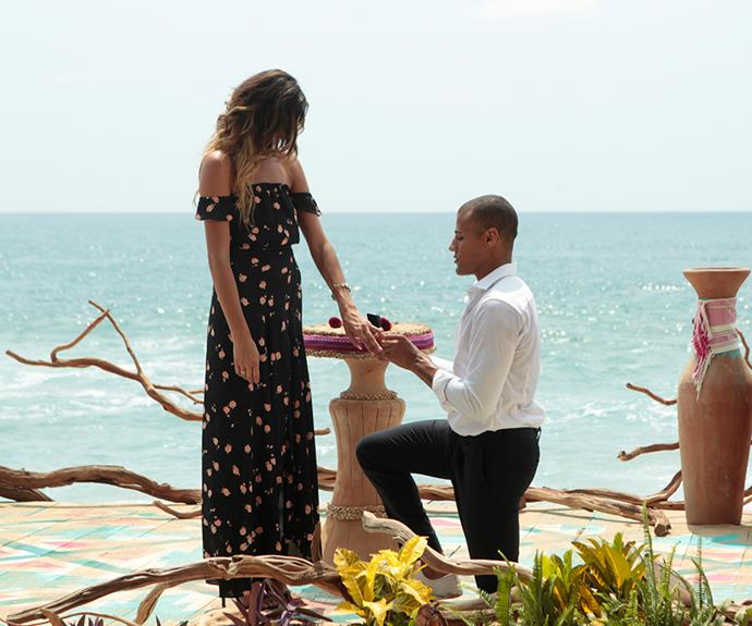 He's done it before! During Grant's first stint in Paradise, he proposed to Lace Morris just weeks after the pair met.