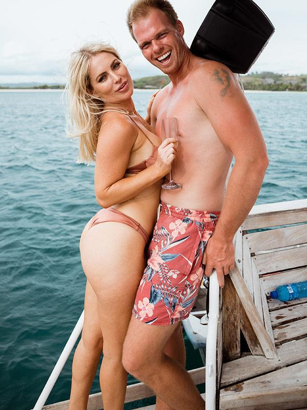 Monk's out and thanks to *BiP* showing Jarrod that there's plenty of fish in the sea... The top bloke caught the love of his life!