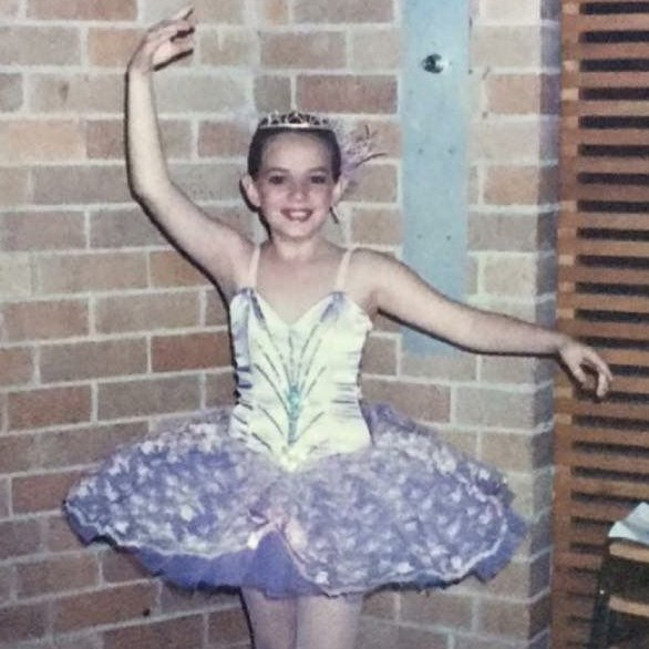 The young Aimee was a natural performer.