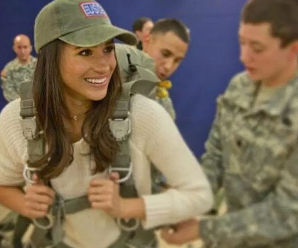 Meghan will need to swap her USA cap for a UK one.