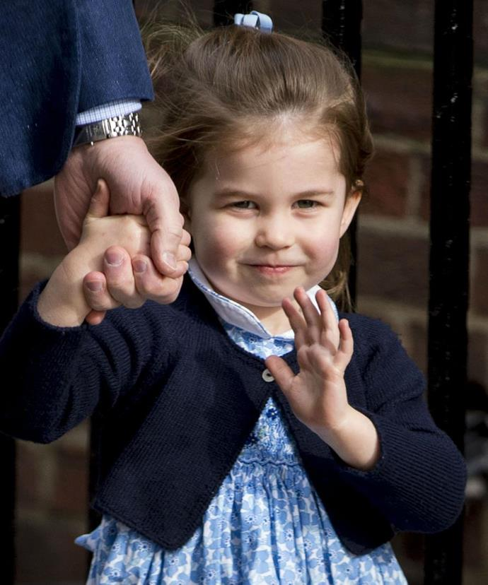 She's a natural-born royal with the wave down pat!