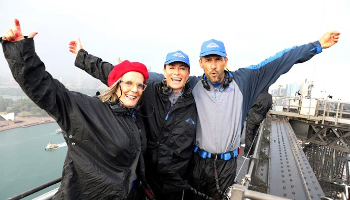 Heart Week Ambassadors Lucy Turnbull, Deborah Hutton and Tim Robards