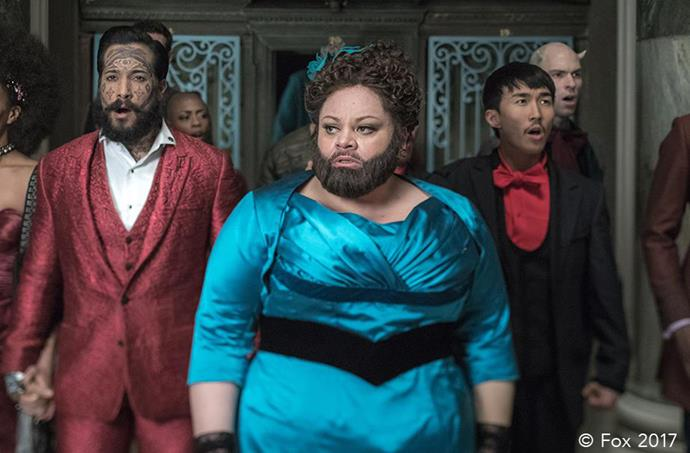 The Voice behind 'This Is Me', Keala Settle. *Photo: 20th Century Fox*