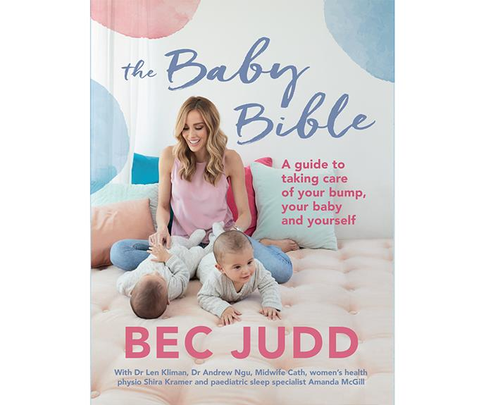 In her new book, Bec leans on her experience as a mother after three pregnancies and fourth children.