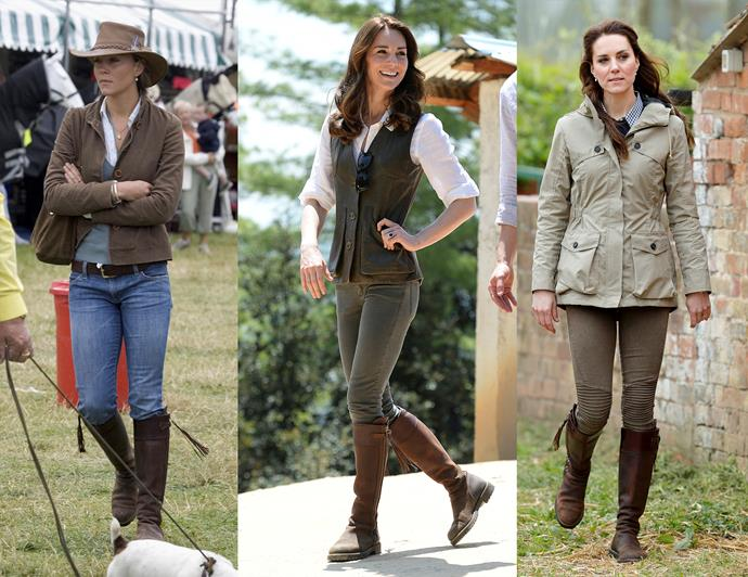 "***Invest in a good pair of boots to last you forever***<br><br> You may not be able to tell, but Kate has been wearing these [Penelope Chilvers](https://www.penelopechilvers.com/|target=""_blank""