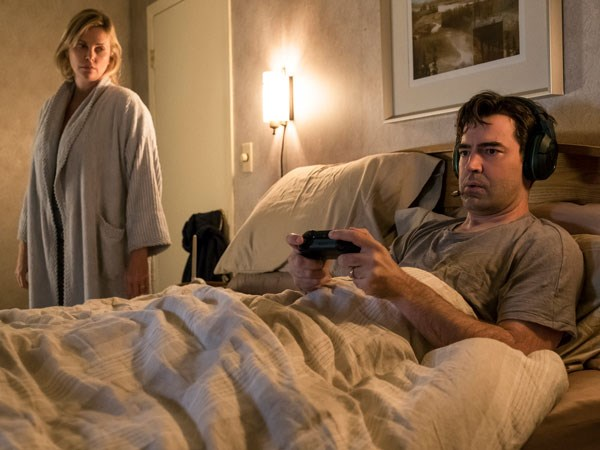 Ron Livingston is brilliant as Drew, Marlo's adoring but so unaware husband.