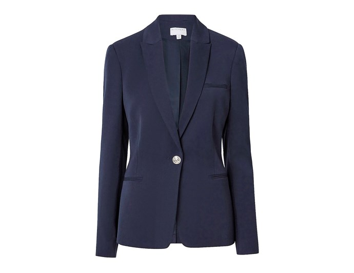 "***A good blazer goes with everything***<br><br> If you're looking to pick up a new blazer for yourself, look for a good thick material (if the fabric is too thin or flimsy, the jacket won't hold shape and will drape), a simple cut (avoid over-exaggerated shoulders, fussy buttons and oversized pockets, which will draw the eye away), and a versatile colour like navy, black or dark green.<br><br> We love this Witchery '[Classic Blazer](https://www.witchery.com.au/products/60206528/Classic-Blazer.html|target=""_blank""