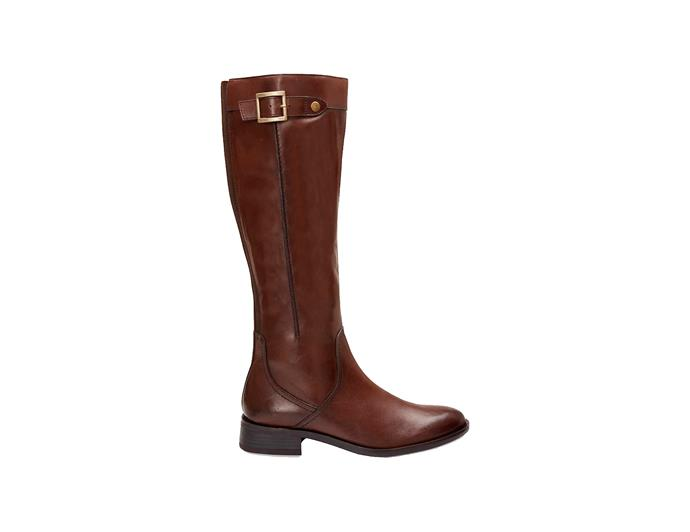 "***Invest in a good pair of boots to last you forever***<br><br> If you're shopping for a pair for your own, look for good quality leather — this will ensure they last you, like Kate's has. <br><br> This pair by [Jane Debster](https://www.theiconic.com.au/irwin-479846.html|target=""_blank""