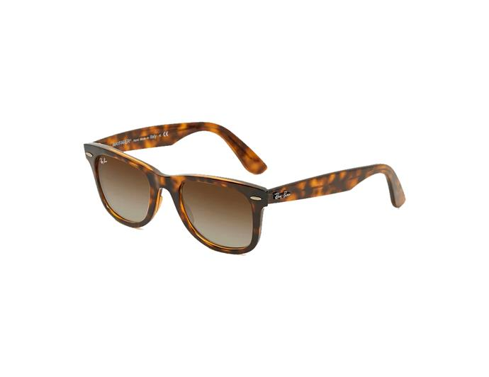 "***One good pair of sunglasses is all you need***<br><br> Luckily, Ray-Bans are readily available – these [Wayfarer Ease](https://www.theiconic.com.au/wayfarer-ease-500334.html|target=""_blank""