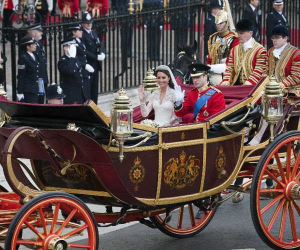 Kate and William chose the the Imperial State Landau for their now-iconic nuptials.