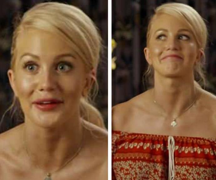 Ali's *Bachelor in Paradise* castmates claimed her face 'didn't really move'.