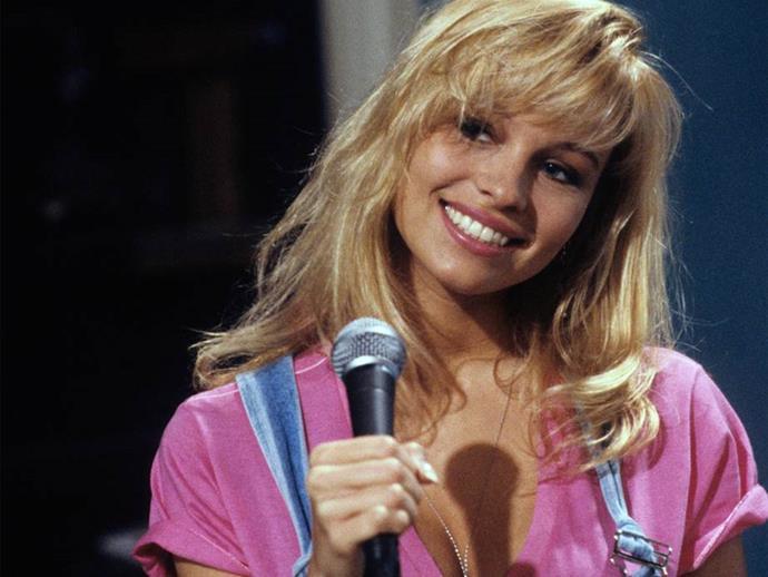 Pamela Anderson in 1991.
