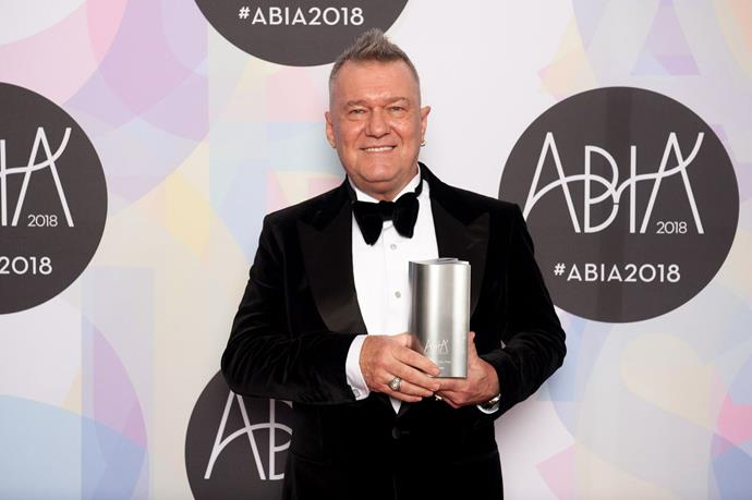 Jimmy Barnes won the 2018 ABIA Award for Biography Book of the Year with *Working Class Man*.
