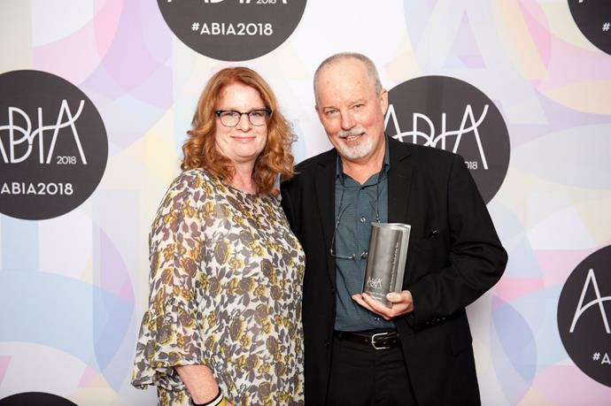 *The Weekly's* Juliet Rieden presented the General Fiction Book of the Year award to Michael Robotham .