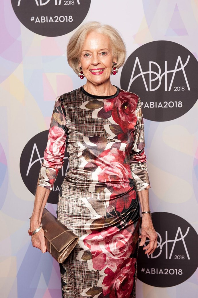 Dame Quentin Bryce gave a speech to honour Suzy O'Neil, founder of the Indigenous Literacy Foundation, who received an award for outstanding service to the book industry.